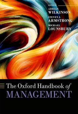 The Oxford Handbook of Management - Oxford Handbooks (Hardback)