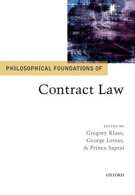 Philosophical Foundations of Contract Law - Philosophical Foundations of Law (Paperback)