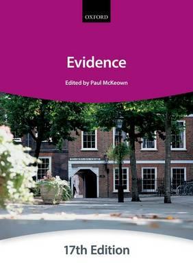 Evidence - Bar Manuals (Paperback)