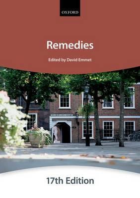 Remedies - Bar Manuals (Paperback)