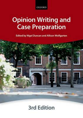 Opinion Writing and Case Preparation - Bar Manuals (Paperback)