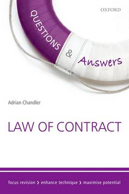Questions & Answers Law of Contract: Law Revision and Study Guide - Concentrate Law Questions & Answers (Paperback)