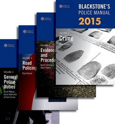 Blackstone's Police Manuals 2015 - Blackstone's Police Manuals