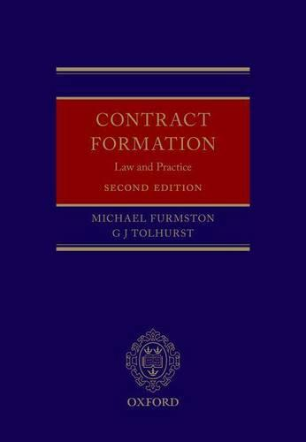 Contract Formation: Law and Practice (Hardback)