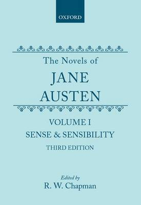 The Novels of Jane Austen: Volume I: Sense and Sensibility (Hardback)