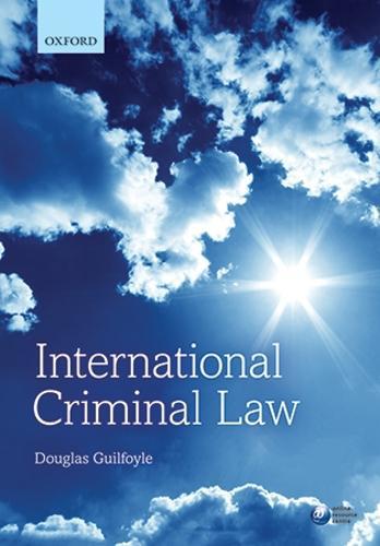 International Criminal Law (Paperback)