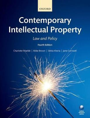 Contemporary Intellectual Property Law And Policy Waterstones
