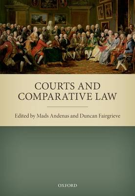 Courts and Comparative Law (Hardback)
