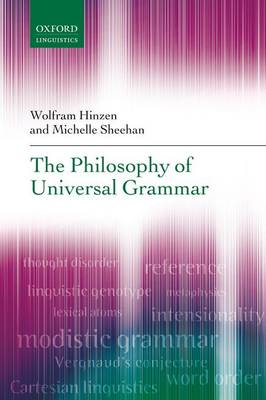 The Philosophy of Universal Grammar (Paperback)