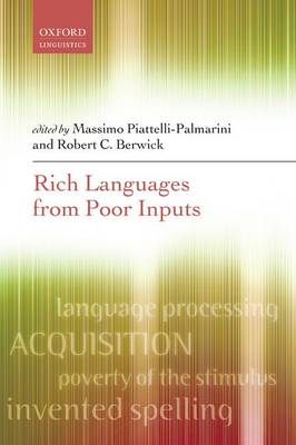Rich Languages From Poor Inputs (Paperback)