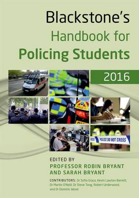 Blackstone's Handbook for Policing Students 2016 (Paperback)
