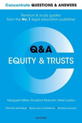 Concentrate Questions and Answers Equity and Trusts: Law Q&A Revision and Study Guide - Concentrate Law Questions & Answers (Paperback)