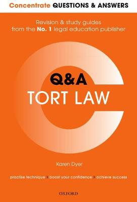 Concentrate Questions and Answers Tort Law: Q&A Revision and Study Guide (Paperback)