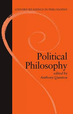 Political Philosophy - Oxford Readings in Philosophy (Paperback)
