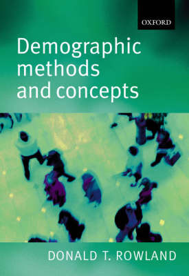 Demographic Methods and Concepts (Paperback)