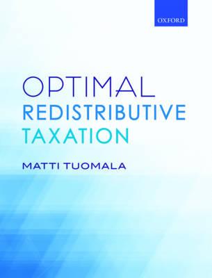 Optimal Redistributive Taxation (Hardback)
