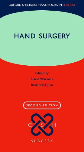 Hand Surgery: Therapy and Assessment - Oxford Specialist Handbooks in Surgery (Paperback)