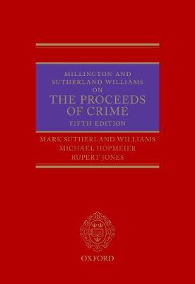 Millington and Sutherland Williams on The Proceeds of Crime (Hardback)