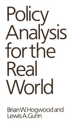 Policy Analysis for the Real World (Paperback)