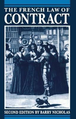 The French Law of Contract (Paperback)