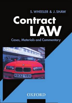 Contract Law: Cases, Materials, and Commentary (Paperback)