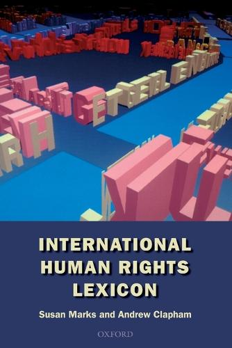International Human Rights Lexicon (Paperback)