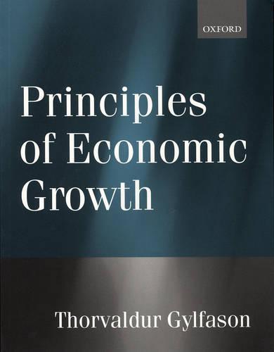 Principles of Economic Growth (Paperback)