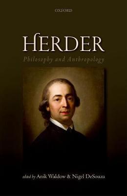 Herder: Philosophy and Anthropology (Hardback)
