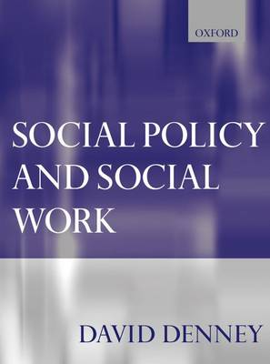 Social Policy and Social Work (Paperback)