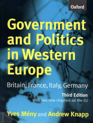 Government and Politics in Western Europe: Britain, France, Italy, Germany (Paperback)