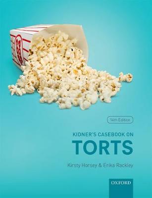 Kidner's Casebook on Torts (Paperback)