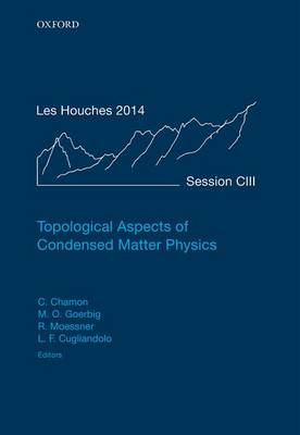 Topological Aspects of Condensed Matter Physics: Topological Aspects of Condensed Matter Physics Volume 103 - Lecture Notes of the Les Houches Summer School 103 (Hardback)