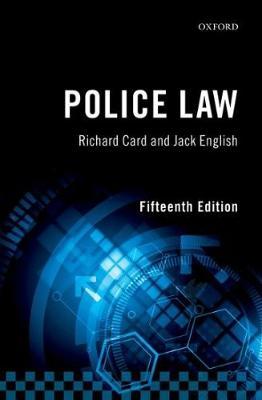 Police Law (Paperback)
