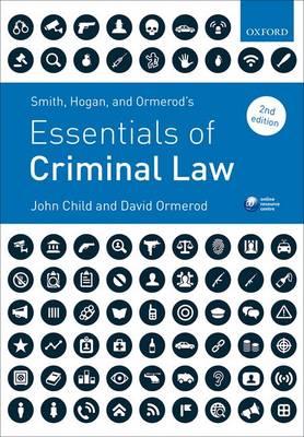 Smith, Hogan, & Ormerod's Essentials of Criminal Law (Paperback)
