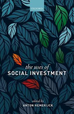 The Uses of Social Investment (Hardback)