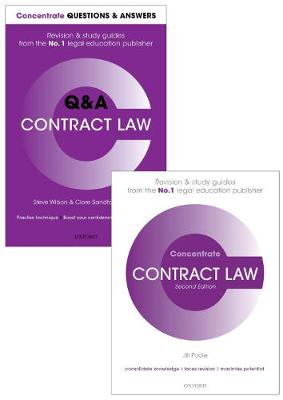 Contract Law Revision Pack 2016: Law Revision and Study Guide - Concentrate