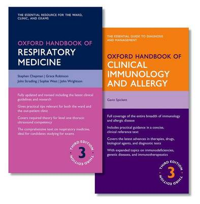Oxford Handbook of Respiratory Medicine and Oxford Handbook of Clinical Immunology and Allergy - Oxford Medical Handbooks