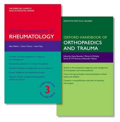 Oxford Handbook of Rheumatology and Oxford Handbook of Orthopaedics and Trauma - Oxford Medical Handbooks