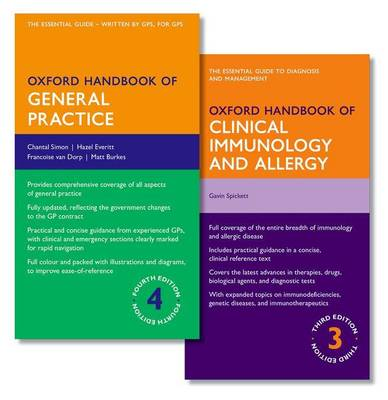 Oxford Handbook of General Practice and Oxford Handbook of Clinical Immunology and Allergy - Oxford Medical Handbooks