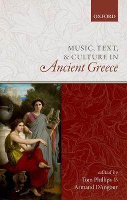 Music, Text, and Culture in Ancient Greece (Hardback)