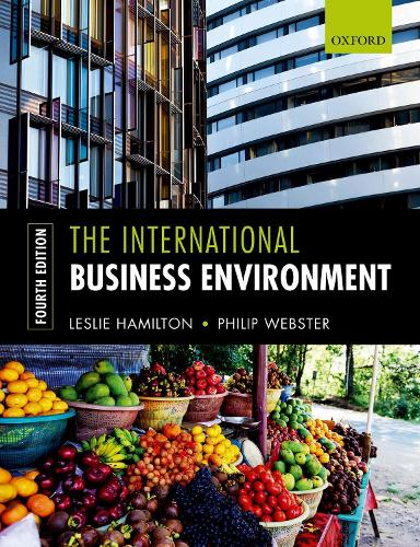 The International Business Environment (Paperback)