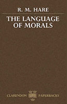 The Language of Morals (Paperback)