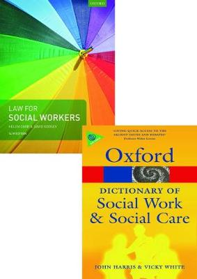 Law for Social Workers & A Dictionary of Social Work and Social Care Pack 2017
