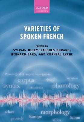 Varieties of Spoken French (Paperback)