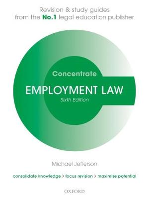 Employment Law Concentrate: Law Revision and Study Guide - Concentrate (Paperback)