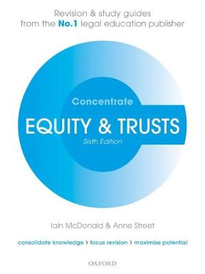 Equity & Trusts Concentrate: Law Revision and Study Guide - Concentrate (Paperback)