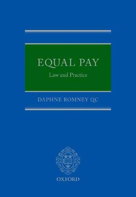 Equal Pay: Law and Practice (Hardback)
