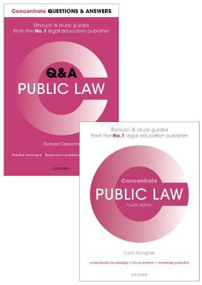 Public Law Revision Pack: Law revision and study guide - Concentrate
