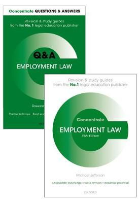 Employment Law Revision Pack: Law revision and study guide - Concentrate