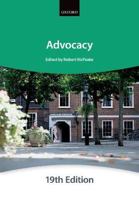 Advocacy - Bar Manuals (Paperback)